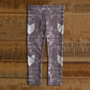 Leggings Chat origami enfants