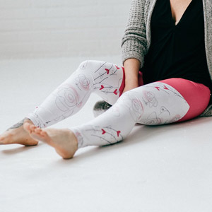 LEGGINGS LA BELLE ET LA BETE